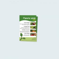 Folletos y flyers 10 x 15 cm