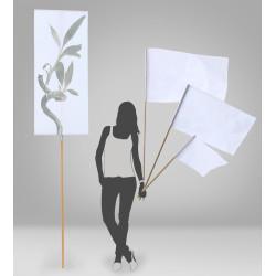 Bandera de palo