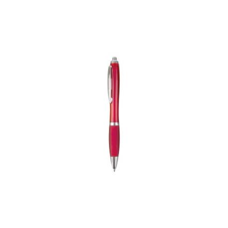 Bolígrafo de plástico con clic